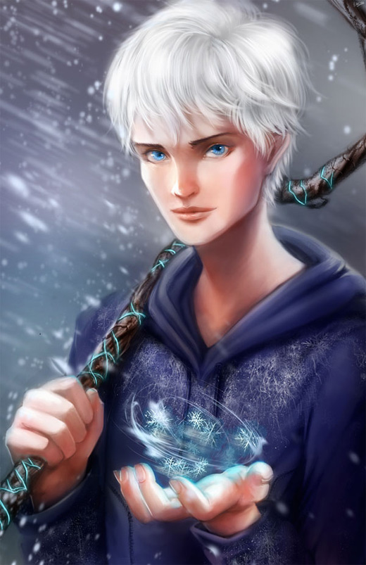 Power magic jack frost artwork illustrations