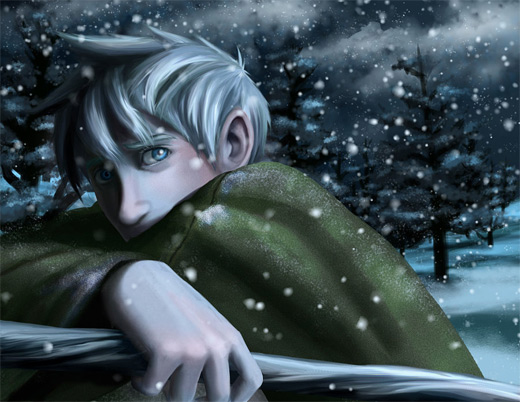 Snow jack frost artwork illustrations