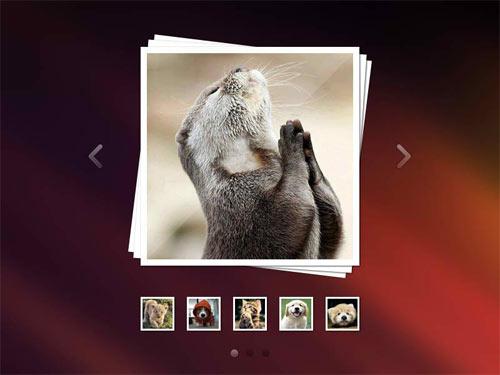 Image Slider PSD