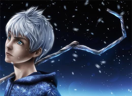 Portrait jack frost artwork illustrations
