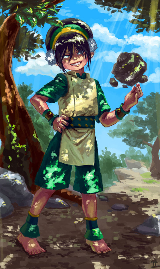 Amazing toph avatar artwork illustrations