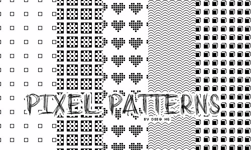free pixel patterns