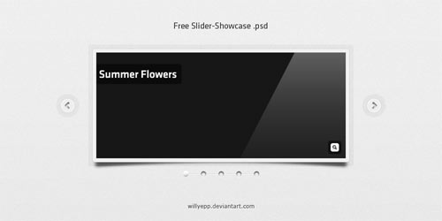 Free Slider-Showcase PSD
