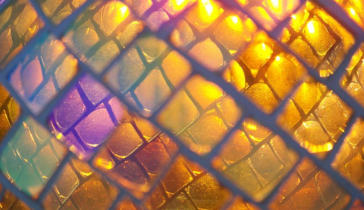 Yellow stained glass textures