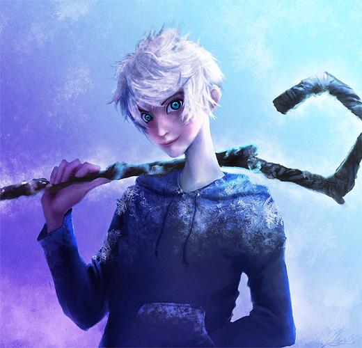 Creative jack frost artwork illustrations
