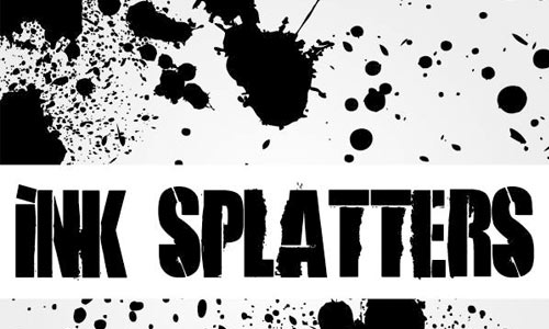 Ink Splatters Big Pack