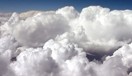 White thick clouds wallpaper free download hi res high resolution