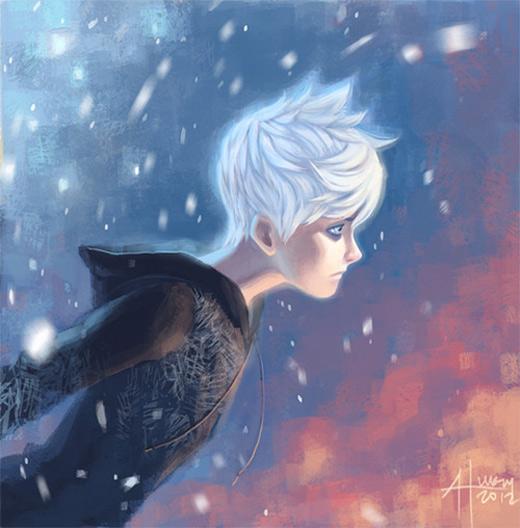 Sad jack frost artwork illustrations