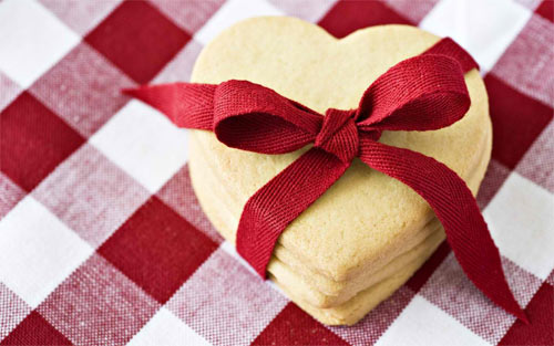 Sweet Heart Cookies wallpaper