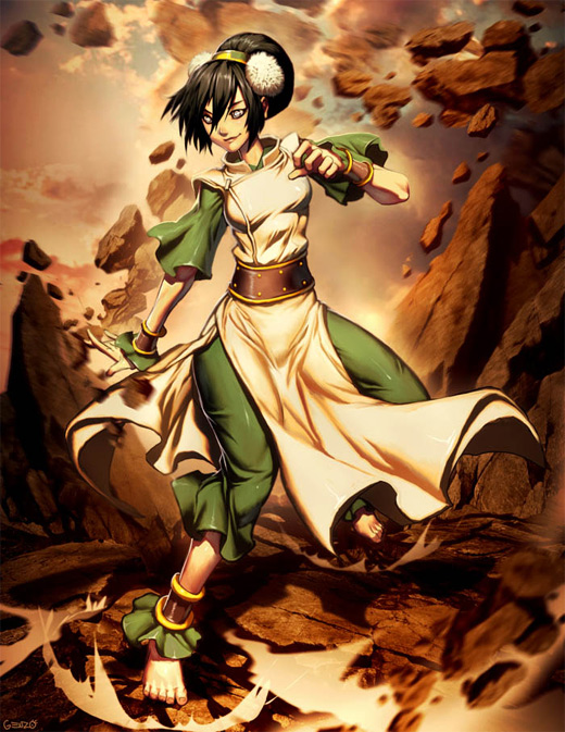 Gorgeous toph avatar artwork illustrations