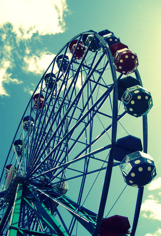 Nice ferris wheel photography