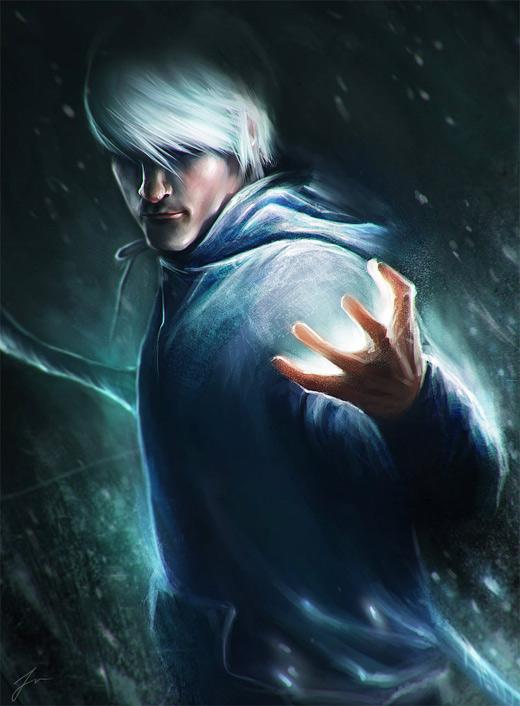 Power jack frost artwork illustrations
