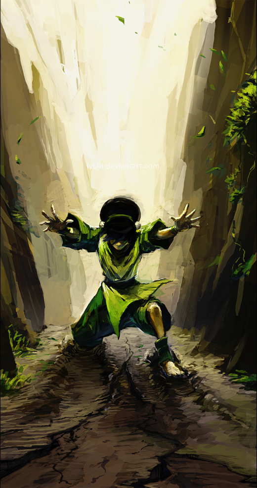 Power earth toph avatar artwork illustrations
