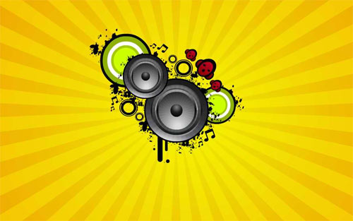 Music Vector Wallpaper