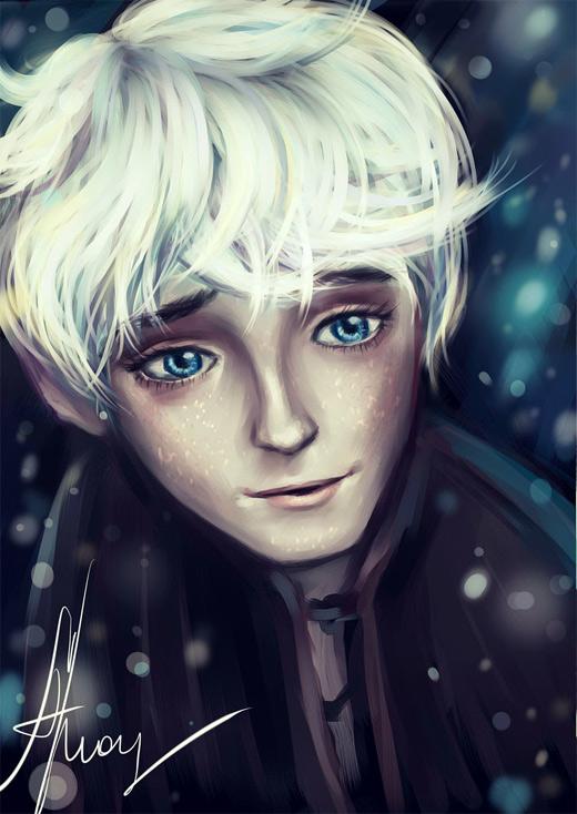 Innocent jack frost artwork illustrations