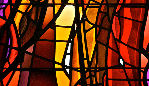 Abstract stained glass textures
