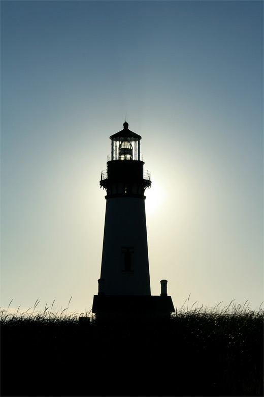 Black sun lighthouse photography
