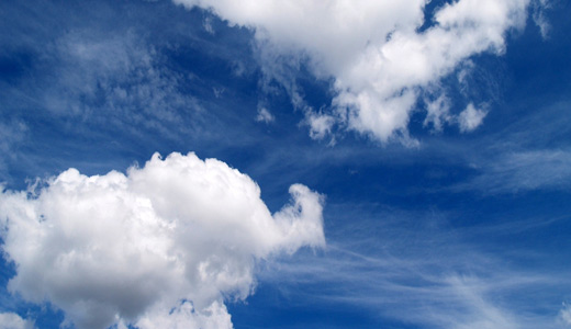 Blue sky clouds wallpaper free download hi res high resolution