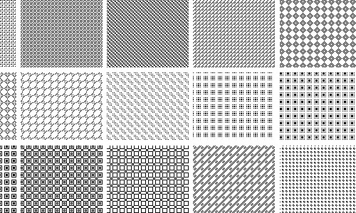 creative pixel patterns