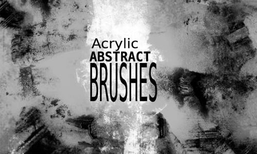 Acrylic_abstract brushes