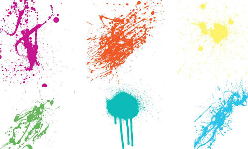 Super Crazy Splatter Vectors 2