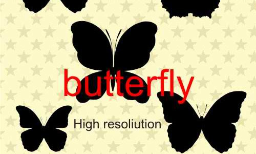 butterfly vectors 3