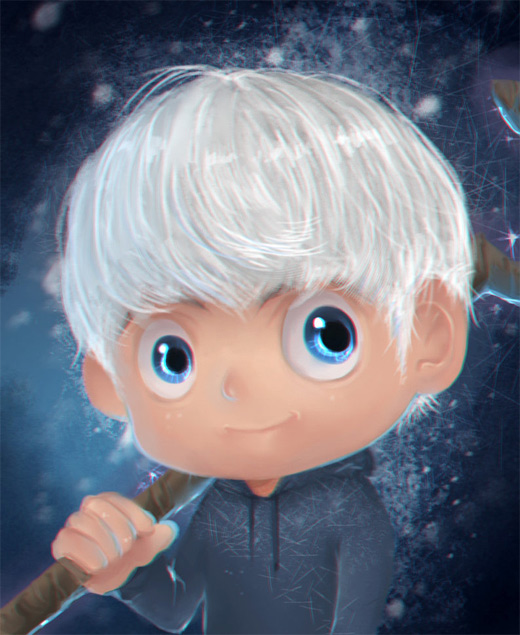 Cute baby jack frost artwork illustrations