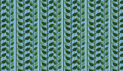 Leaves illustration digital vector grass patterns free download seamless repeat