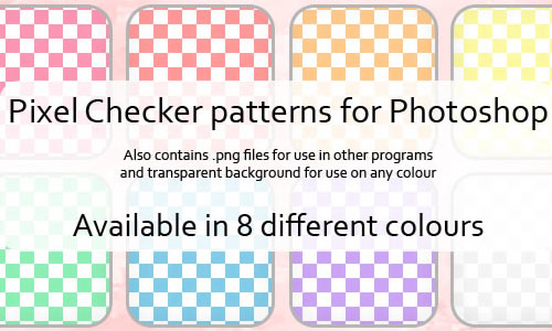 Pixel Checker Patterns for PS