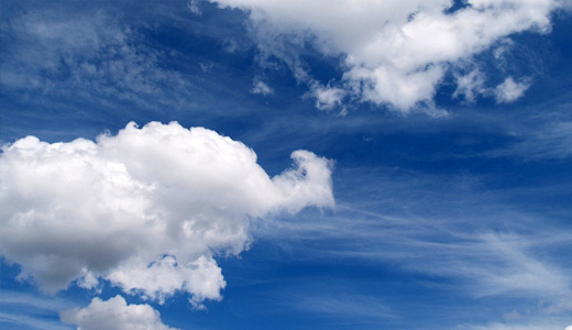 Blue sky nice clouds wallpaper free download hi res high resolution
