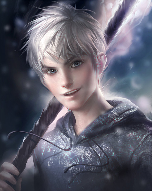 Beautiful jack frost artwork illustrations
