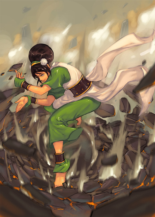 Mature lady toph avatar artwork illustrations
