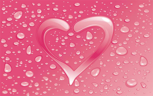 Pink Heart_892 Wallpaper