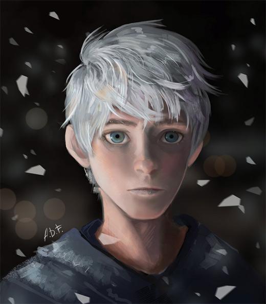 Artistic jack frost artwork illustrations