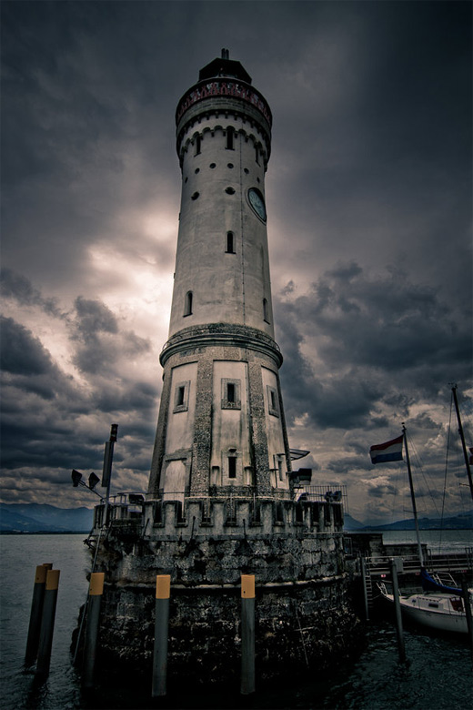 Amazing architecture lighthouse photography