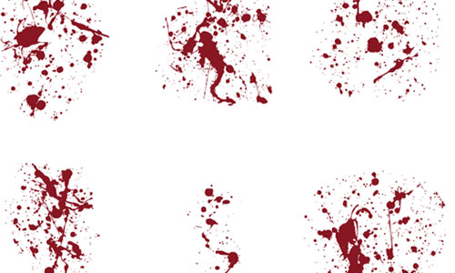BLOOD SPLATTER 001