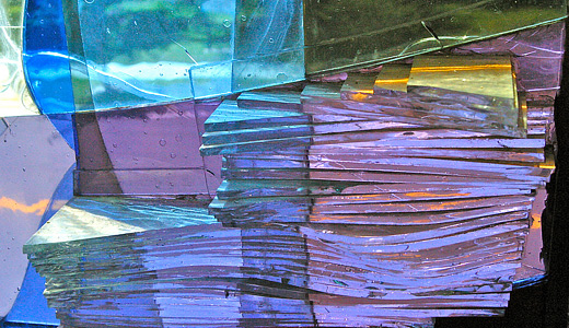 Purple stained glass textures