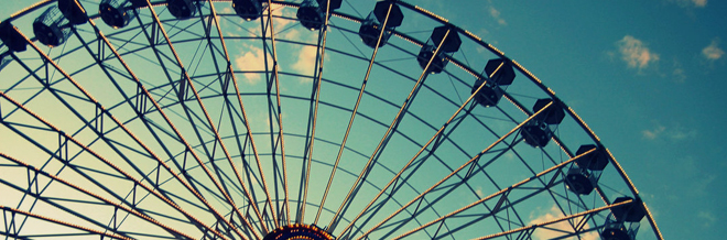 40 Stunning Ferris Wheel Photography