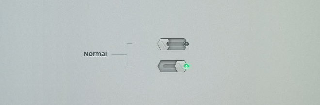 28 Free To Download PSD Toggle Switches