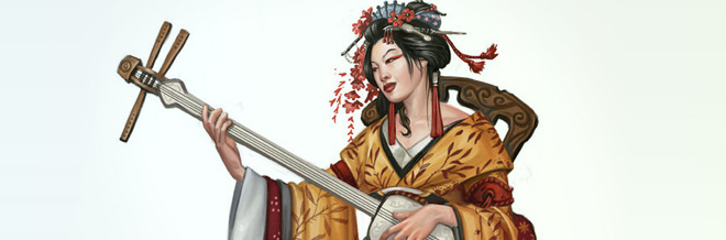 25 Beautiful Examples of Geisha Artworks