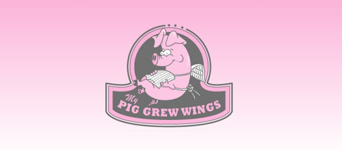My Pig Grew Wings logo