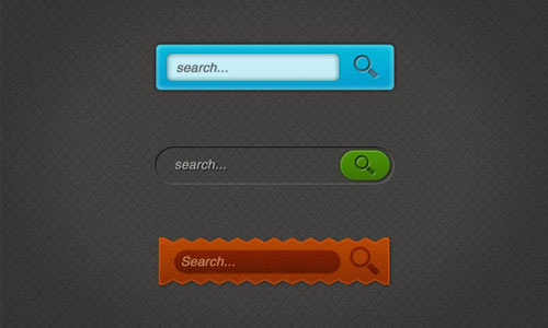 Free Custom Search Boxes (PSD)