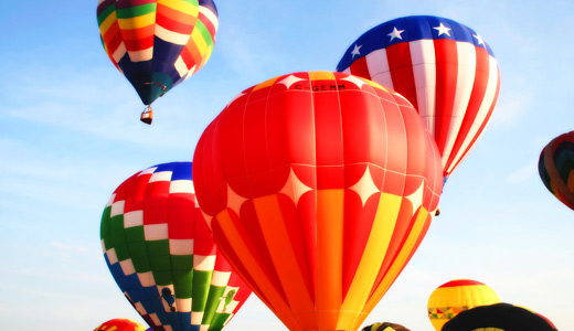 Big red hot air balloon free download wallpapers