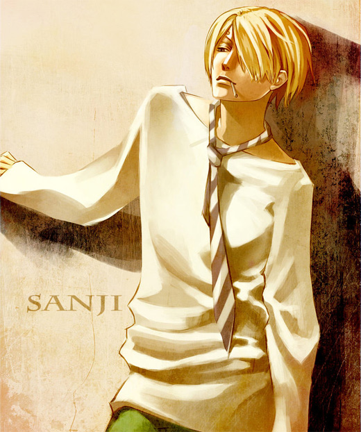 Outfit sanji one piece illustrations artworks