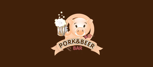 Pork & Beer Bar logo