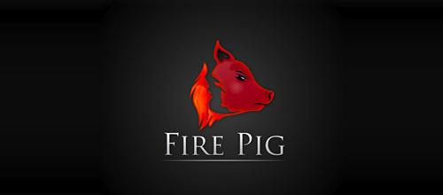 Fire Pig logo