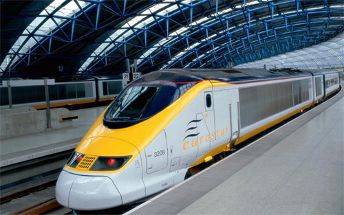 Eurostar Train Travel wallpaper