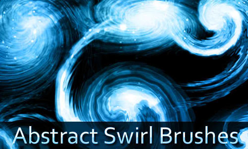 abstract Swirl Photoshop Brushes
