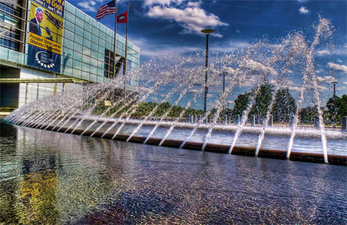 Clinton's Fountain HDR II