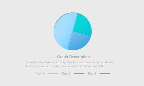 simple & clean pie graph